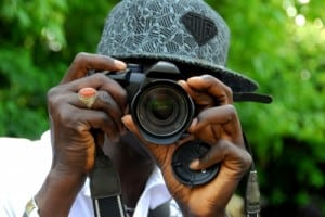 living behind a lens