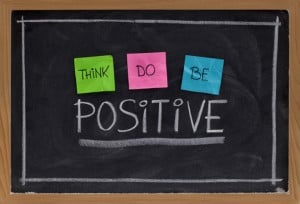 having a positive attitude