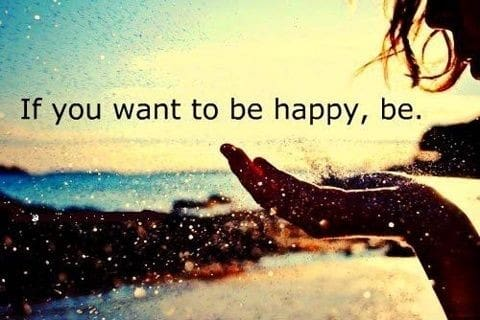 how to be happy with what you have