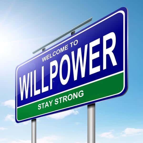increase willpower