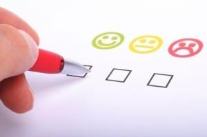 smiley face check box