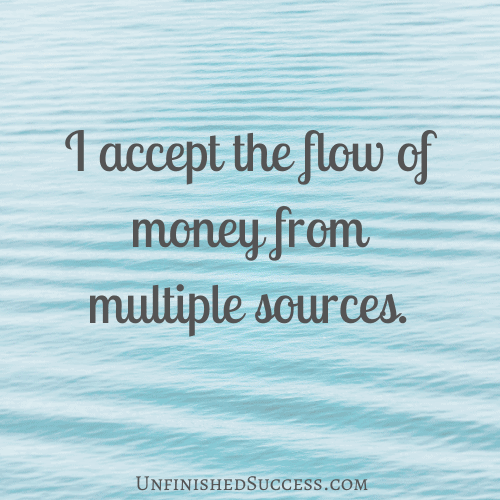 I accept the flow of money from multiple sources